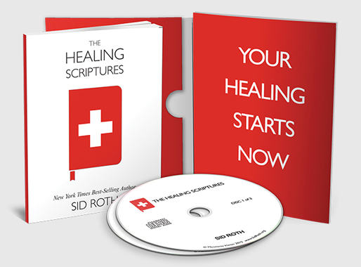 The Healing Scriptures by Sid Roth - $25 Package